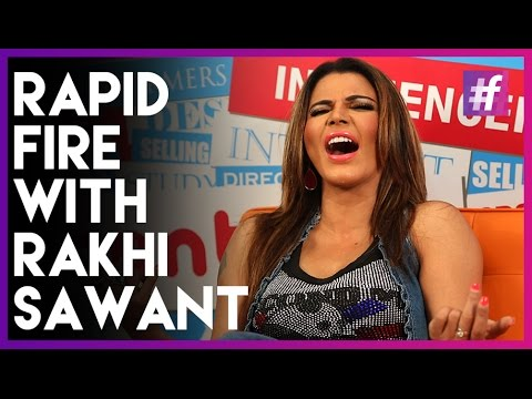 Rapid Fire With Rakhi Sawant! | Can You Handle It?!
