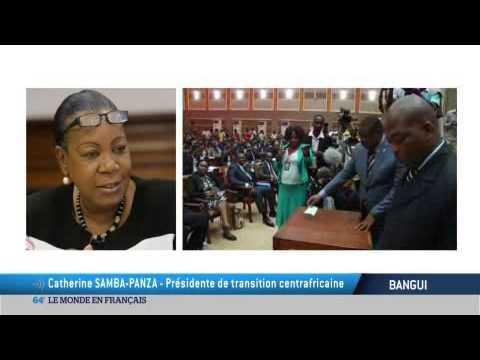Centrafrique :  les défis de Catherine Samba-Panza