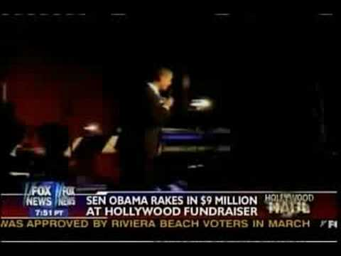 Obama Parties In Hollywood While Lehman and AIG Collapse