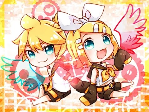 Rin And Len Kagamine Electric Angel Kagamine Rin And Len Electric