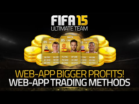 FIFA 15 - WEB APP LIVE BEST TRADING METHODS!! - (Fifa 15 Ultimate Team)