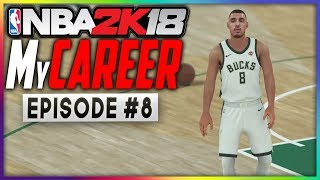 BEST GAME OF MY CAREER! TIME TO START ME! | NBA 2K18 MyCareer Gameplay! | EP8