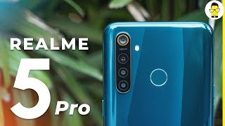 Realme 5 Pro Unboxing, Hands-on review, camera samples, and more