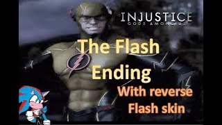 Injustice: The flash ending with reverse flash skin