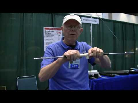 W3FF builds a portable VHF Yagi Antenna at HAMCOM 2010