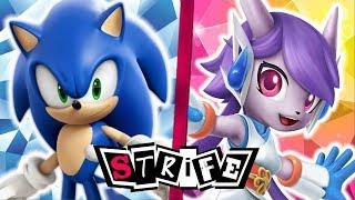 Sonic VS Lilac | STRIFE!! (Sega VS Freedom Planet)