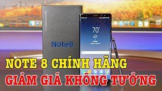 Mở hộp Galaxy Note 8 chính hãng GIẢM GIÁ HƠN MỘT NỬA