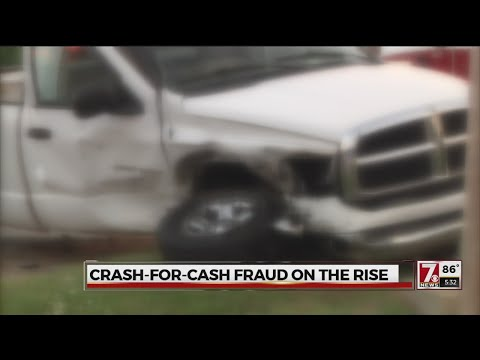 Criminals stage crashes to claim insurance money, driving up premiums