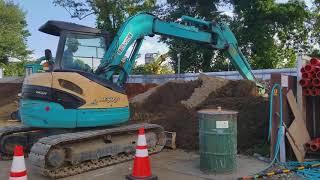 Thi lái máy xúc đất ( tts Nhật Bản thi chuyển giai đoạn)