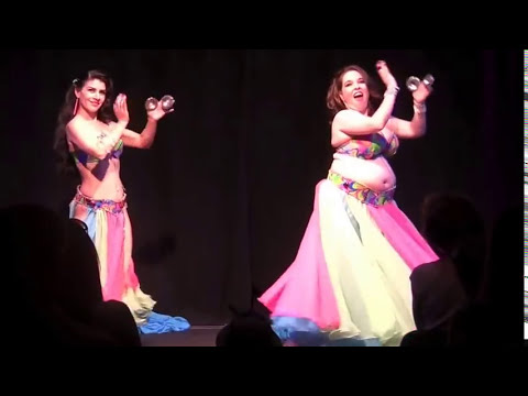 Shabnam and Mandanah- Bellydance Day 2012