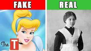 The Messed Up REAL Story Behind Cinderella