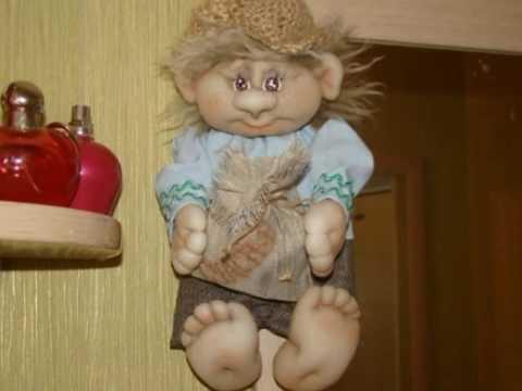 Домовёнок из капрона пошаговая инструкция