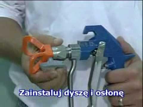 Agregat malarski graco mark V instalacja pistoletu airless