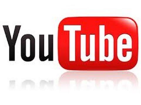 Простое оформление фона на канале youtube