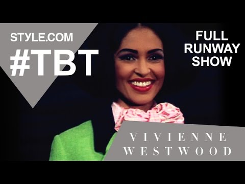 Vivienne Westwood s Fall 1991 Collection-full Runway Show - #TBT with Tim Blanks - Style.com
