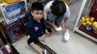 Anh Phi test Chuột Điều Khiển và Tắc Kè Điều Khiển bắt mồi tại Đồ Chơi ABO