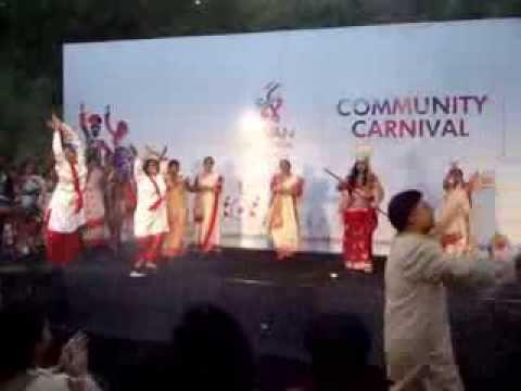 Upvan Art Festival, Navodaya Sangh 6 - Dhaker Tale Komor Dole video