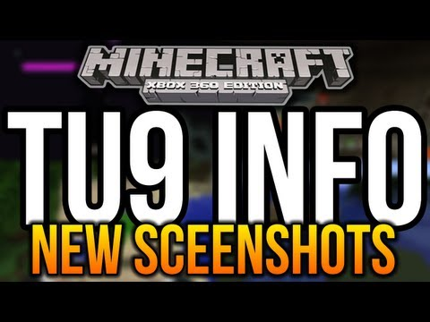 Minecraft (Xbox 360) - TU9 SCREENSHOTS! - New Info and Features Confirmed!