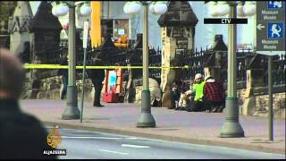 Shooting in Canada parliament leave two people dead