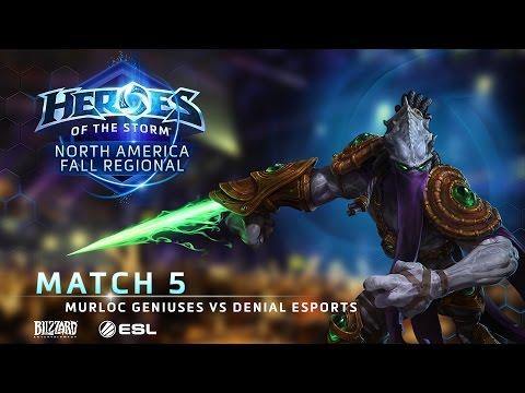 Murloc Geniuses Vs Denial ESports - NA Fall Regional #1 - Match 5 | Group A | Lower Bracket