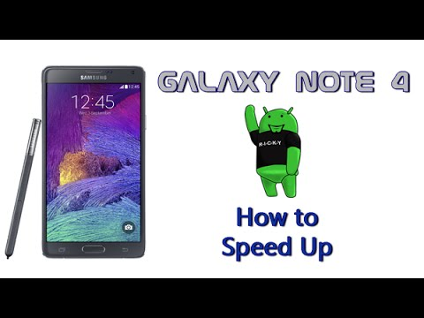 How to Speed Up the Galaxy Note 4