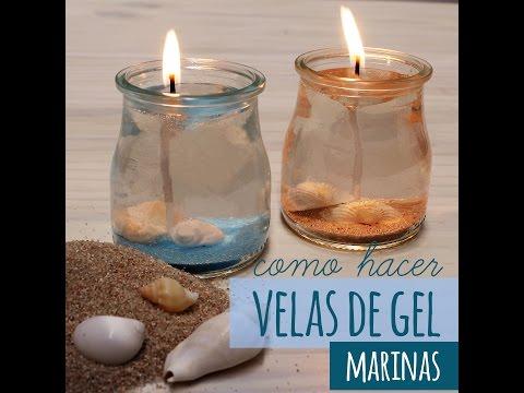 Hacer una vela con agua y aceite - Velas de agua ...