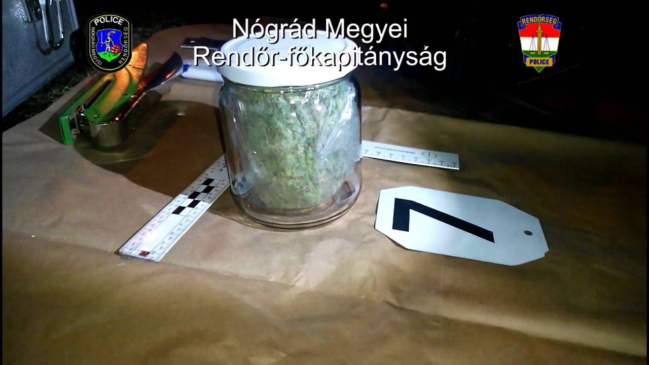 Kábítószer a befőttesüvegben - videó