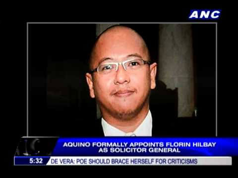 Hilbay is new Solicitor General