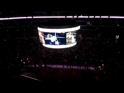 Los Angeles Clippers vs OKC Thunder Player Intros 3/3/13