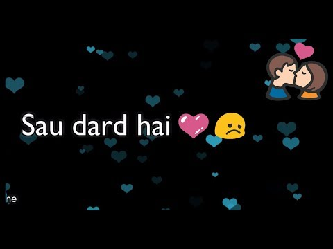 Sau Dard Hai ❤ || ❤ Salman Khan ❤ || Old : Sad 😞 : Love ❤ WhatsApp Status Video 2017 😊
