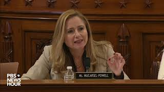 WATCH: Rep. Debbie Mucarsel-Powell's full questioning of legal experts | Trump impeachment hearings