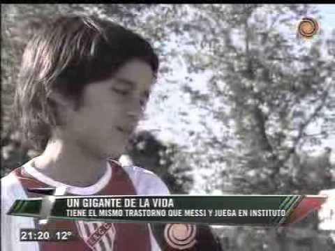 Gonzalo Muñoz: El Messi Cordobés. Telenoche canal doce.