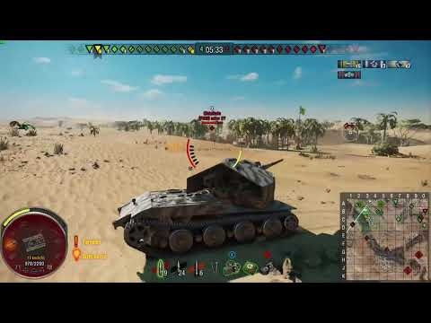World of Tanks Console Waffentrager E 100 - 7,400 Damage Without premium Ammo