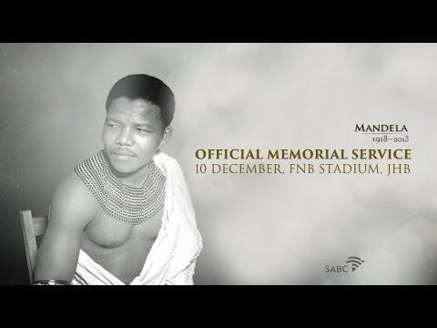 SABC TV Live Stream Coverage: Nelson Mandela Memorial Service (1)