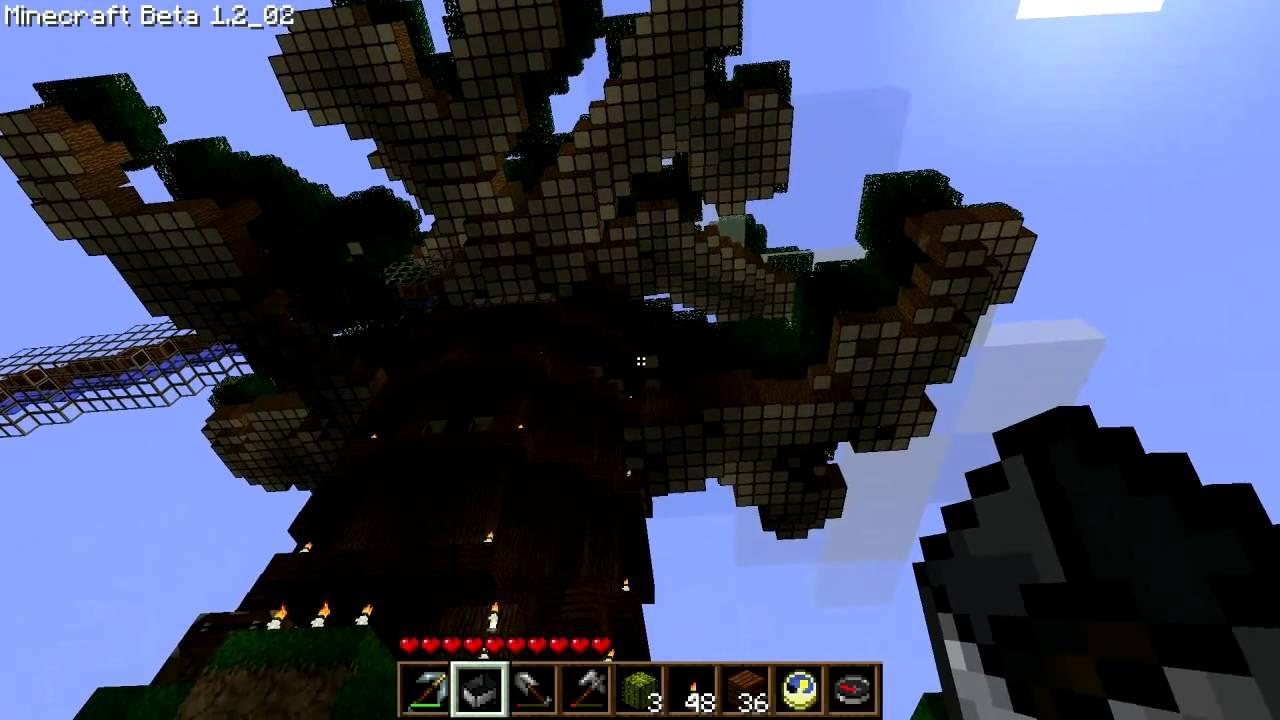 Minecraft Giant Tree House