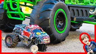 Monster Truck Zombie Attack!