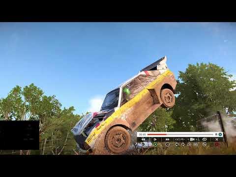 Тройное сальто на машине 🏁 Переворот машины в воздухе 🔴 Dirt 4