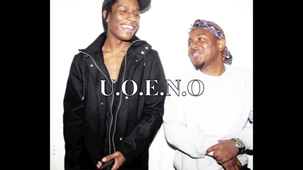 U.O.E.N.O - Kendrick Lamar ft. Asap Rocky - YouTube