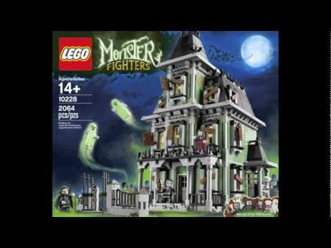 Pictures of the LEGO Monster Fighters Haunted House Set 10228!