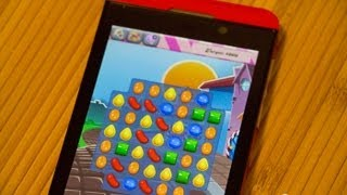 Candy Crush Saga running on BlackBerry 10