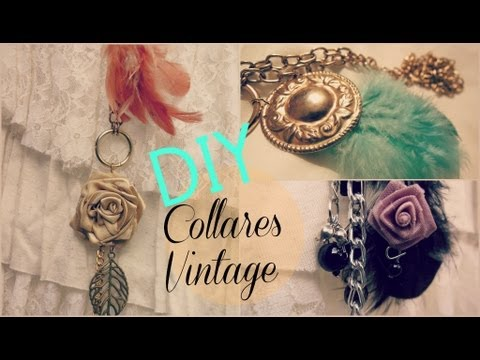 DIY Collares Necklace / maryto chocolate
