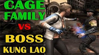 Revenant Kung Lao BOSS beaten by Silver Cage Family! Perfect strategy!