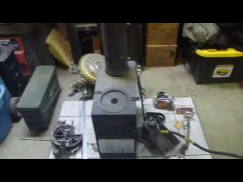 Off Grid Heat Source. Army Surplus Space Heater 3 Year Updates & Mods..