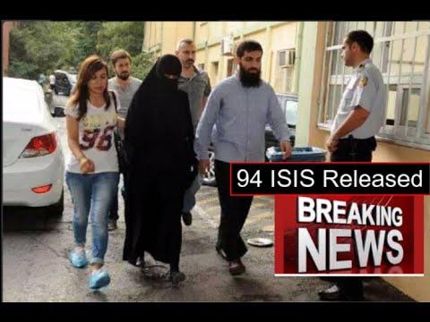 Turkey released 94 ISIS Terrorists from jail including ISIS leader in Turkey Ebu Hanzala