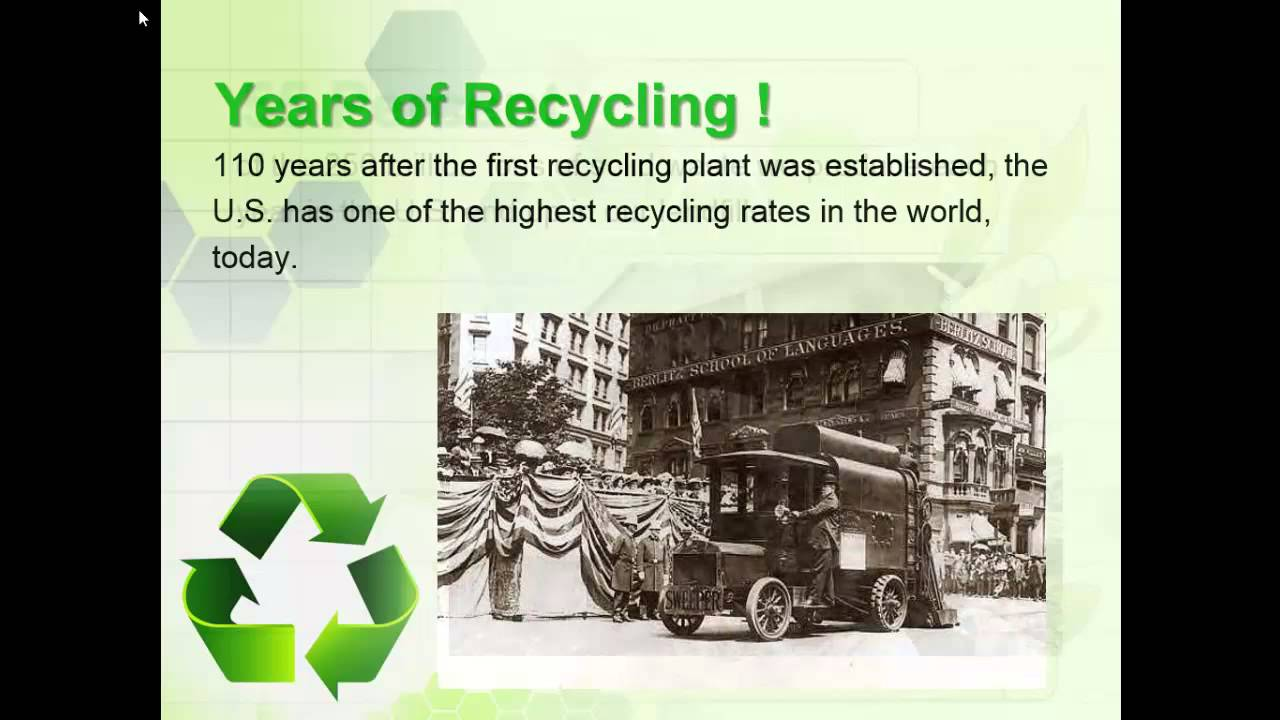 should recycling be mandatory essay