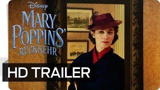 MARY POPPINS' RÜCKKEHR - Teaser Trailer (deutsch/german) | Disney HD