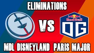 EG vs OG | MDL Disney Paris Major