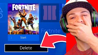 You Laugh = You DELETE Fortnite!