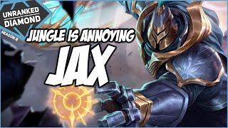 JAX JUNGLE, JUNGLE IS ANNOYING NOW - Unranked to Diamond - Ep. 132 | League of Legends