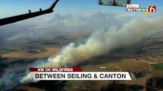 Northwest Oklahoma Wildfires